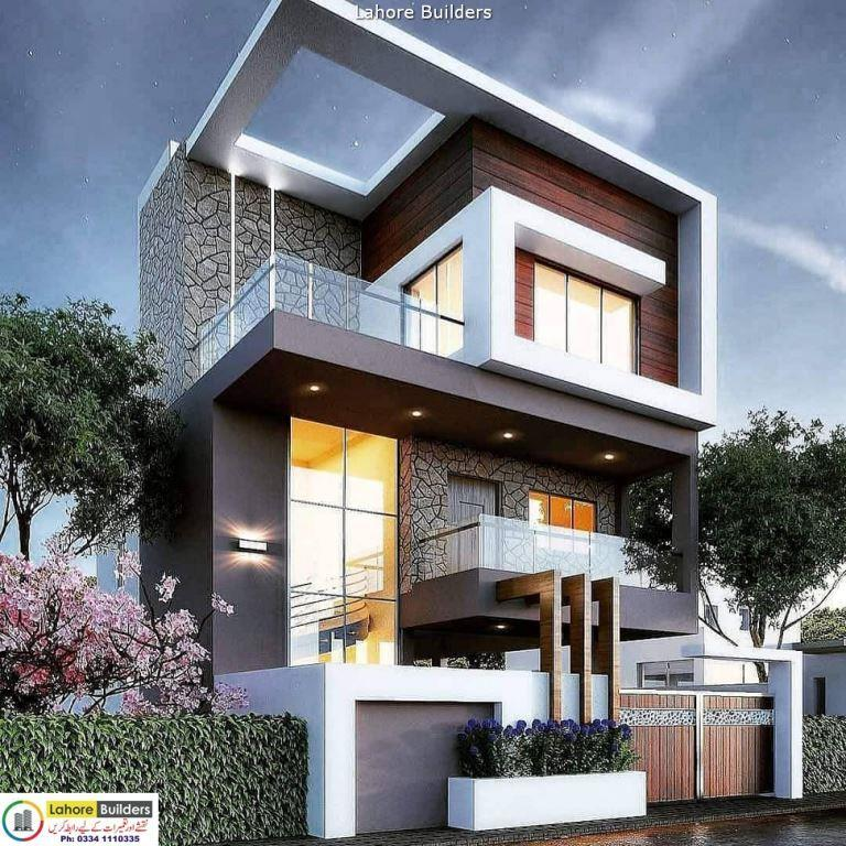 Home Design Ideas Front: 7 Marla House Front Elevation Designs And Exterior Ideas